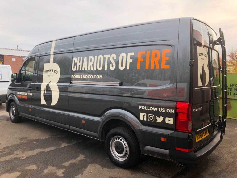 Chariots van web